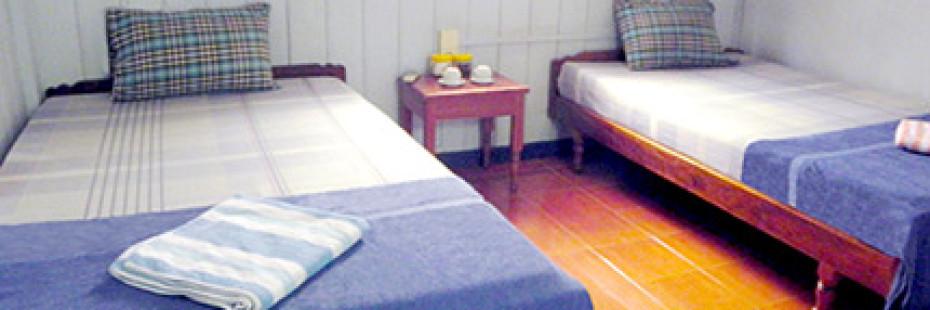 Room at guesthouse, Siem Reap, Cambodia, nr Angkor Wat