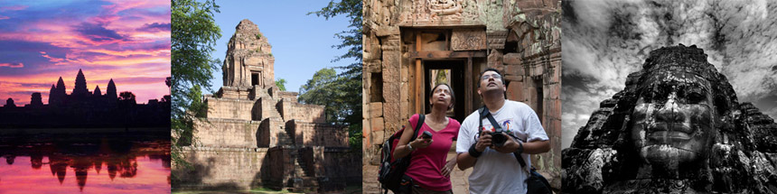 Angkor Wat, Bayon and temples in Cambodia