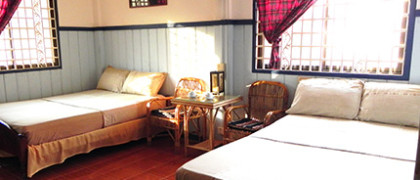 Family suite at Two Dragons Guesthouse, Siem Reap, Cambodia