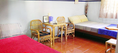 Guesthouse room, Two Dragons Siem Reap Cambodia nr Angkor Wat